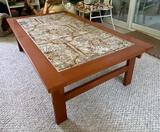 Artistic Tiled Coffee Table