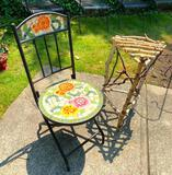Mosaic Folding Chair and