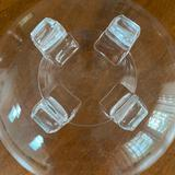 8? Stueben Four Footed Glass Bowl