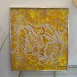 Yellow Batik Painting