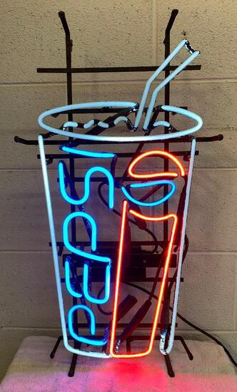 "Neon ""Pepsi"" Sign"