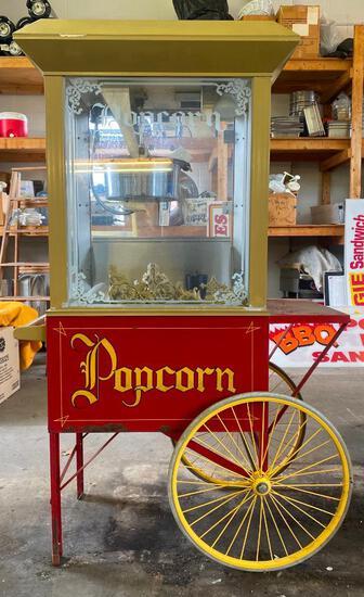 WHIZ BANG Street-Cart Popcorn Machine