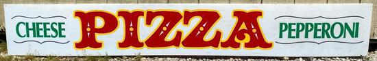 "Acrylic ""Pizza"" Sign"