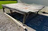 Freestanding Wooden Platform