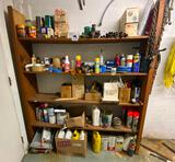 Shelving Unit and Contents