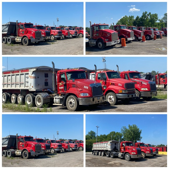 LIVE & Online Commercial Trucking Company Auction