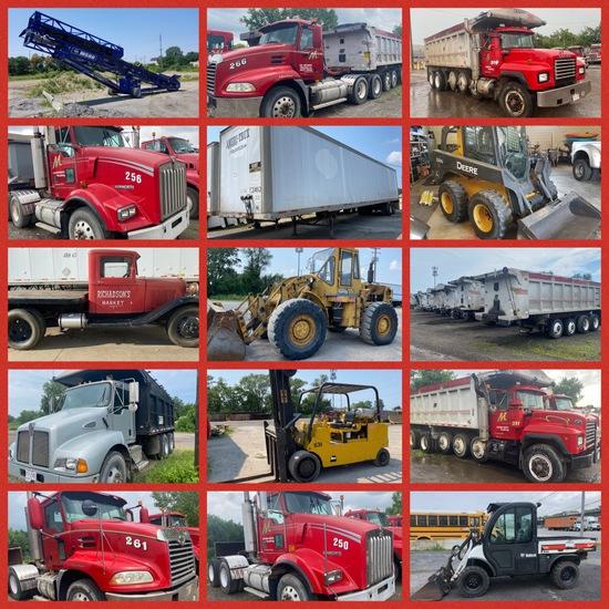 LIVE/Online Comm. Truck Fleet, Const. Equip & More