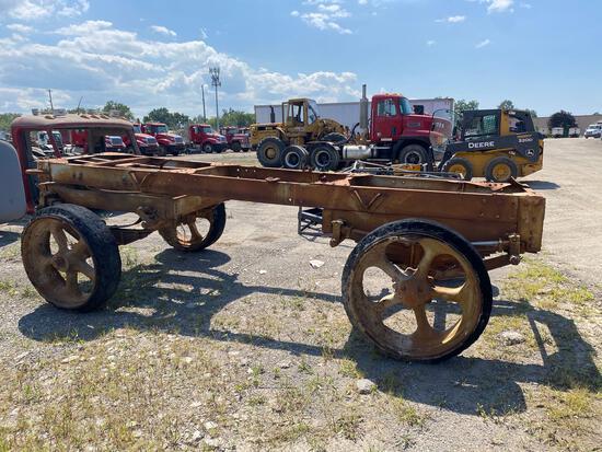 Vintage Steel Pipe Cart