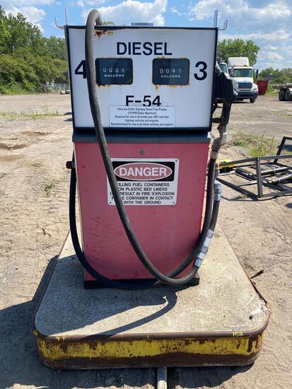 Vintage Diesel Fuel Pump