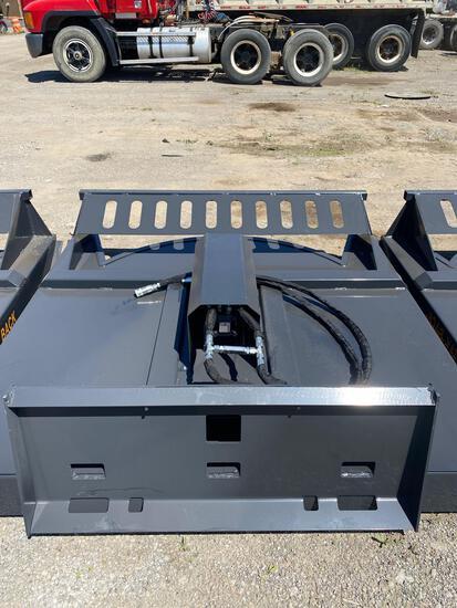 NEW Wolverine Co 72in Hydraulic Skidloader Brush Hog Attachment
