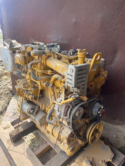 Caterpillar C3.3B 4 cyl Diesel Engine