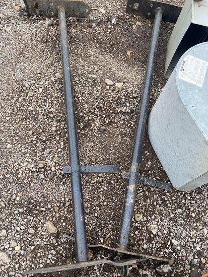 Pair of ladder racks for van