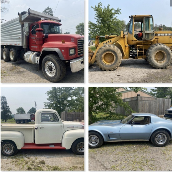 Online-Only Trucking & Excavating Auction