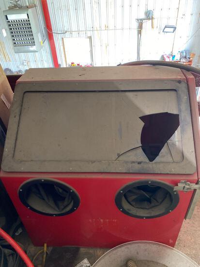 Table Top Blast Cabinet