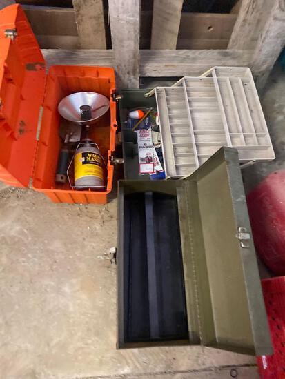 Tackle and Tool Box Lot