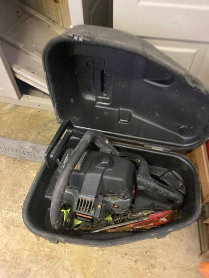 Craftsman chainsaw and case