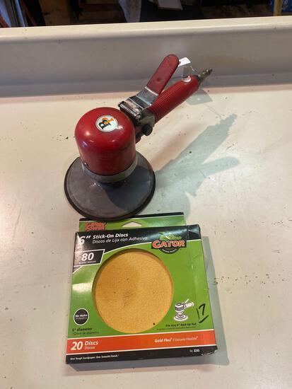 BP Co 6in Air Sander w/ Discs
