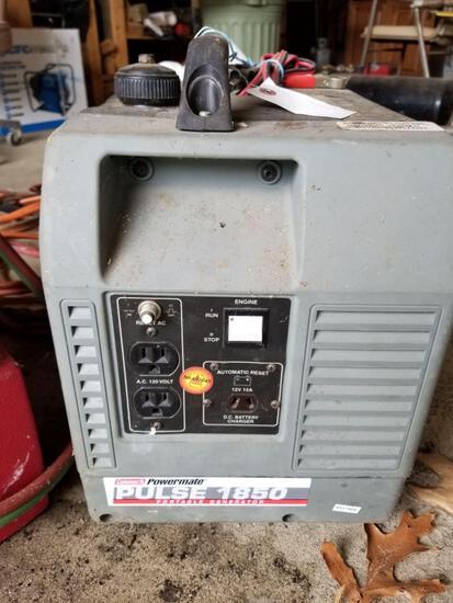 Coleman Powermatic Pulse 1850 Portable Generator.