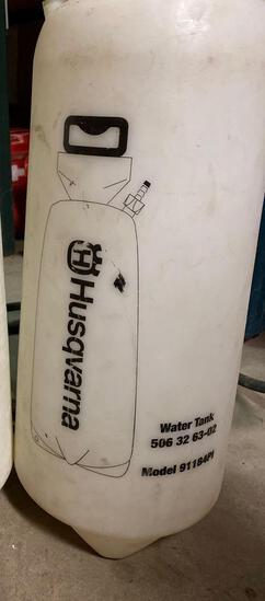 Husqvarna water tank