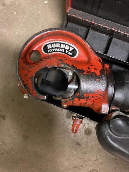 Burndy Hypress Y35 Hydraulic Compressor