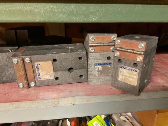 Huge Lot Ultra Weld Ultrasonic Molds and Supplies