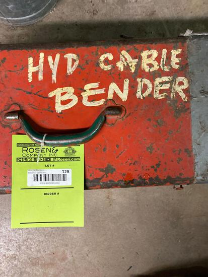 Hydraulic Cable Bender