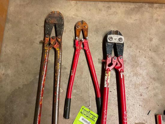 3 bolt cutters