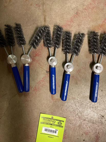 Five Ultraweld Dual-Head Wire Brushes