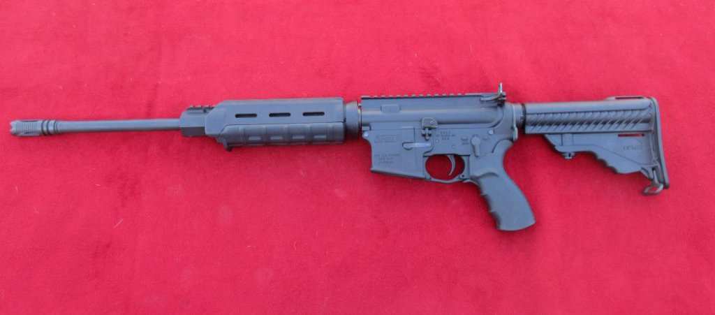 DPMS A-15 Cal 223-5.56.  Unable to sell to California Residence.