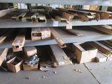 3 Shelves- Steel Raceway Covers,Wraparounds,Mount Strips,Light