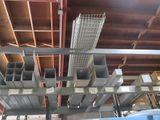 2 Shelves-Wire Shelfs,Square Ducing