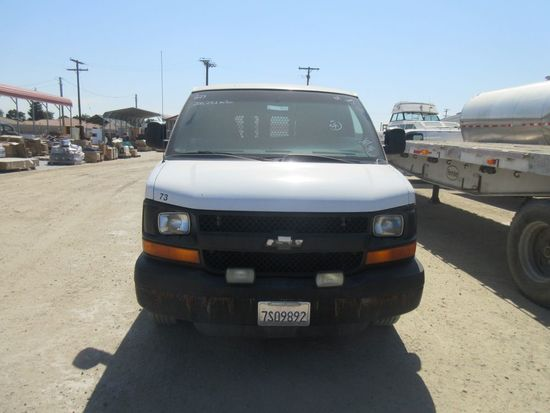 2005 Chevy 3500 Cargo Van