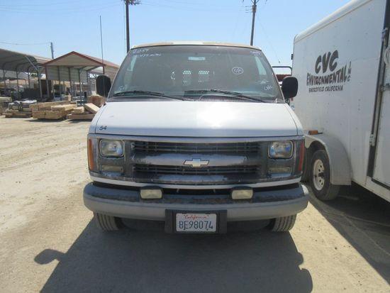 2002 Chevy 3500 Cargo Van