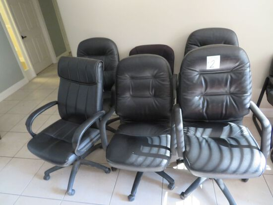 8 Rolling Chairs