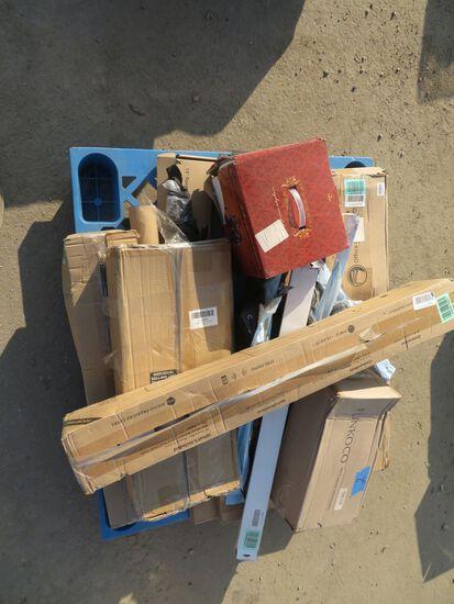 Horse Phone, Storage Unit, Steam Mop, Clip Boards, misc