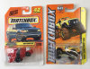 Matchbox Rotwheeler and International Scout 4x4 Toy Cars
