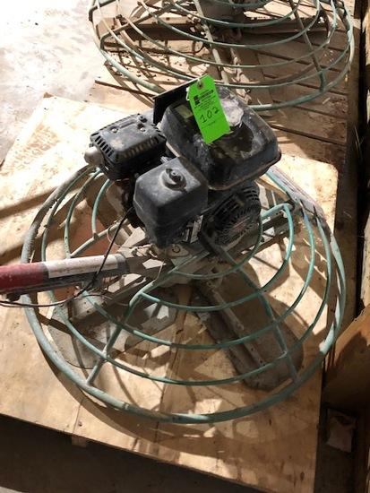 Whiteman Power Trowel w/Honda Motor - 36In.