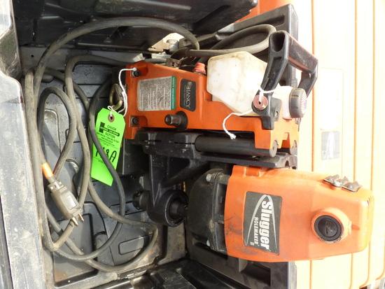 Slugger II Magnetic Hole Maker w/Oil Resevoir