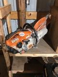 Stihl TS 420 Hand Held Concrete Saw