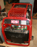 ICS Bestway Port. Hyd. Unit w/Vanguard 18HP Gas Motor - Only 11 Hrs. - Like New