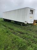 Trailmobile 8Ft. x48Ft.  Enc. Cargo Storage Trailer;