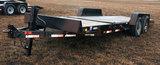 2010 7Ft. x22Ft.  DCT Tiltbed Skidsteer Equip. Trailer - Tandem Axle