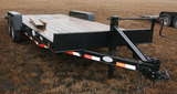 2015 DCT 7Ft. x20Ft. Flatbed Trailer w/Ramps - Tandem Axle