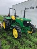 JD #5065E MFWD Dsl. Tractor w/Roll Bar