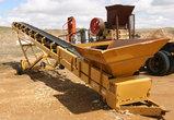 The Screen Machine Mdl. CH50-24-EAB2564 Hyd. Driven Conveyor