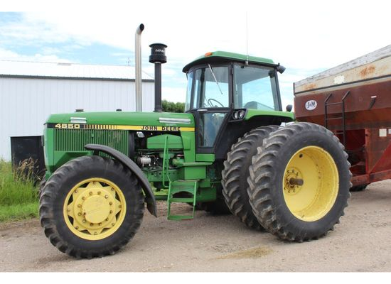 JD 4650 MFWD Tractor