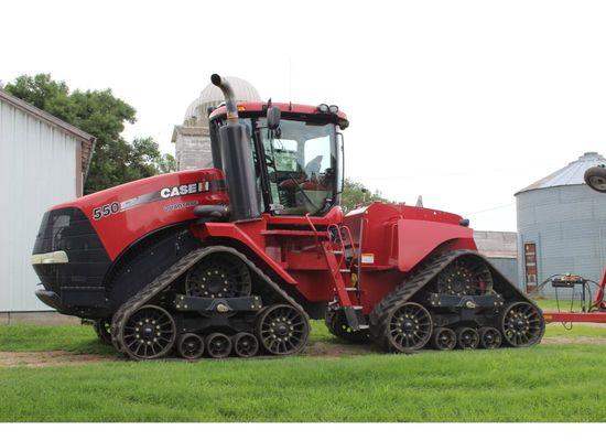 """Case-IH 550 Quadtrac Tractor, PTO, 30"""" Tracks"""