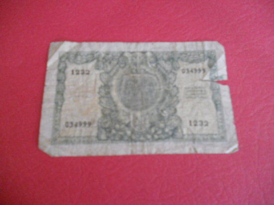 Italy 50 LIRE note, 1951