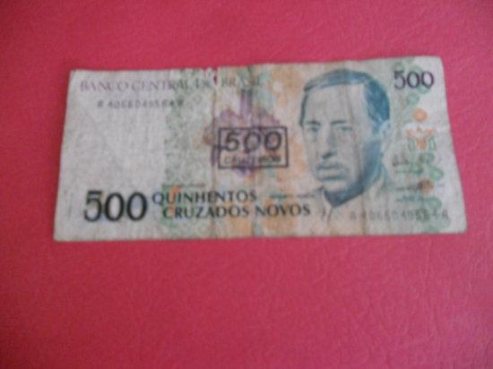 Brasil 500 CRUZADOS Note, 1993