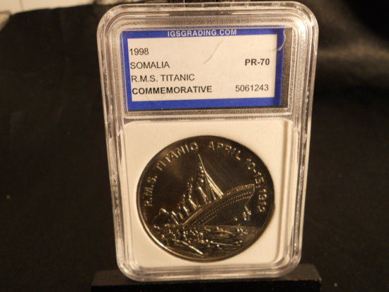1998 Republic of Somaliland, 5 Dollar